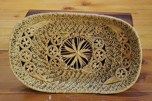Pine Needle Handwoven Basket