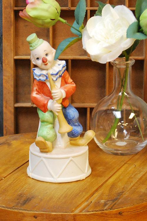 Whimsical Clown Music Box