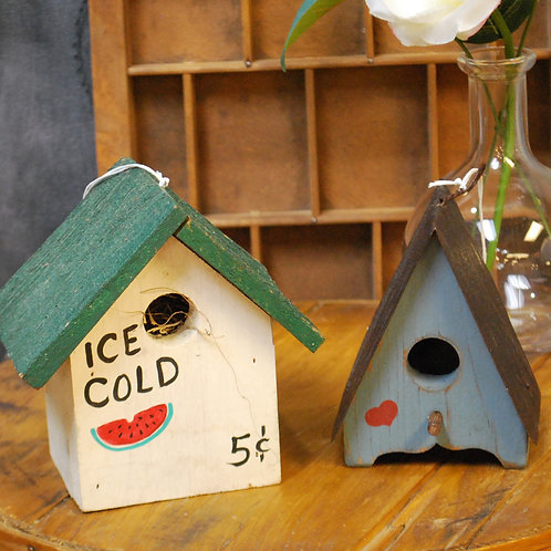 Small Birdhouses (Decor Only)