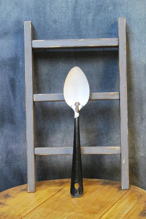 Enamelware Serving Spoon