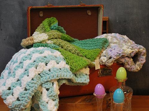 Handcrocheted Baby Blankets