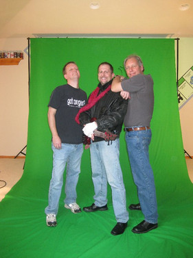 More greenscreen for O Holy NIght!