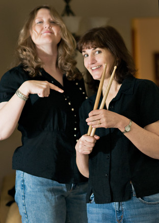 Lynne and Robin