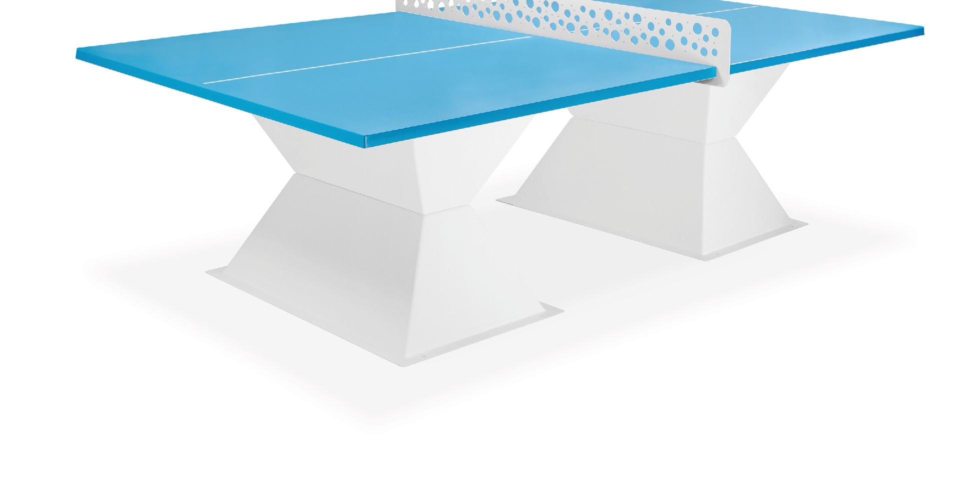 Table Diabolo 35 bleu caraïbes