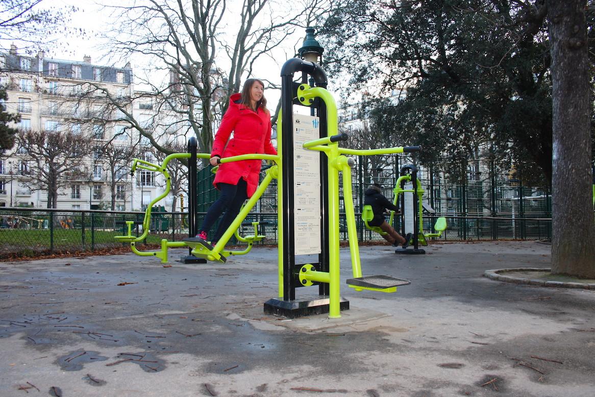 Aire de fitness à Paris