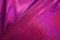 RED/FUCSHIA HOLOGRAM