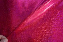 FUCHSIA/RED HOLOGRAM