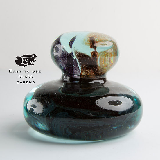 Colorful 'Studio' Print Frog® Glass Baren™