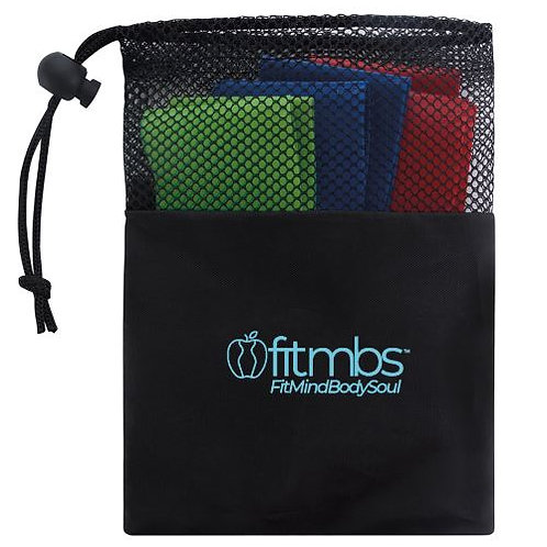 FITMBS™ EXERCISE RESISTANCE BAND SETS 3-PK