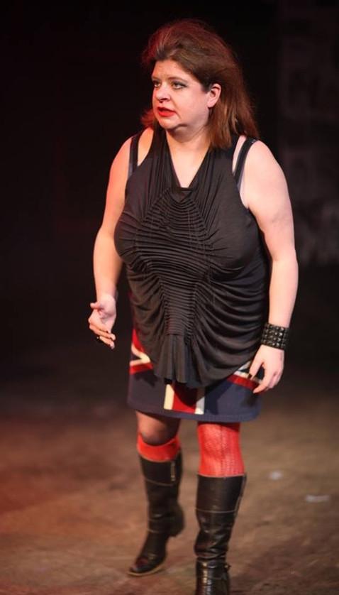 "Polly McKie in ""Richard the Third"""