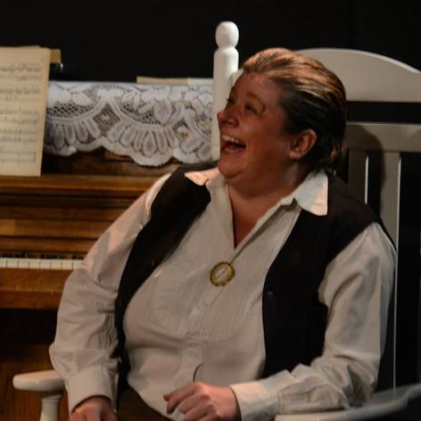 """Polly McKie as Gertrude Stein in """"Little Wars"""""""