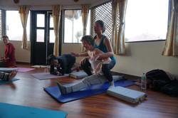 Teach at Nepal Yoag Academy 2016 Dec