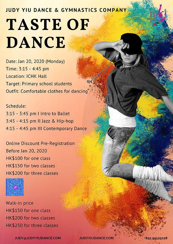 2020.01.20 Taste of dance - JY Dance Pos