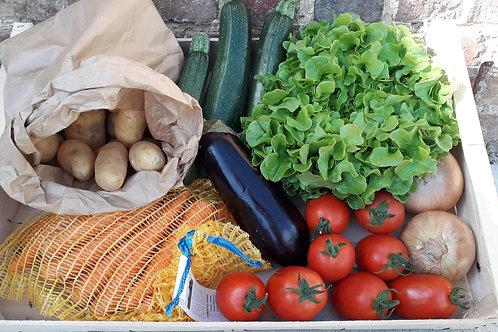 Panier Légumes et pommes de terre