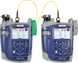 Simplex and MPO Optical Loss and OTDR test sets