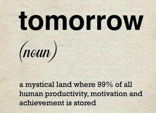 Don't Procrastinate on Insurance
