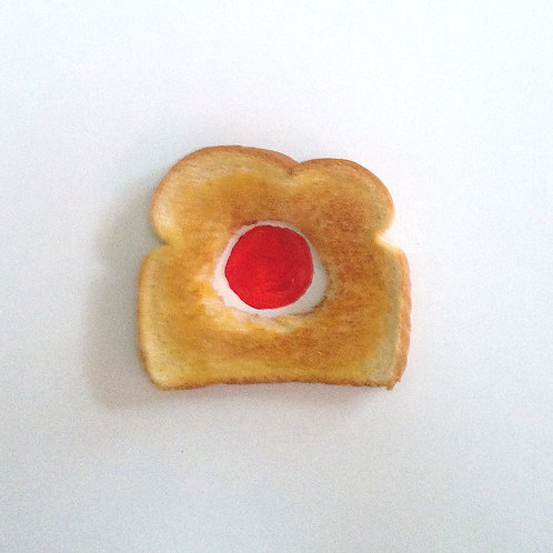 Toast with Red Dot