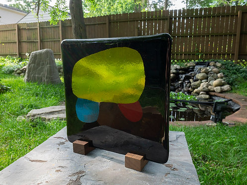 Fused Glass Sculpture, Five