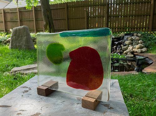 Fused Glass Sculpture, Three