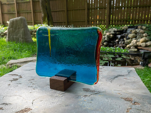 Fused Glass Sculpture, Four