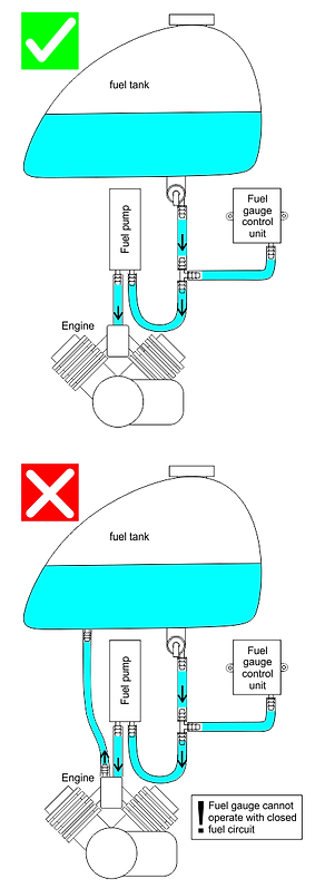 FuelGaugePro1 with external fuel pump