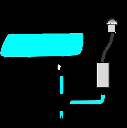 KitFuelGaugePro - Low Fuel Level Warning Light