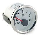 White Face Fuel Gauge
