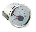 White Face Fuel Gauge