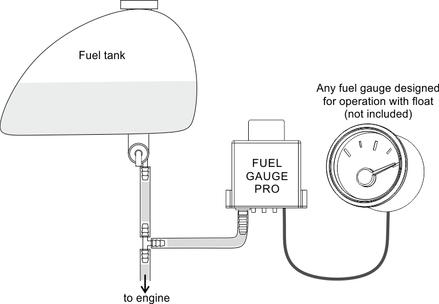 Fuel Gauge Pro - Universa Sending Unit