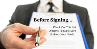 8 Steps to take before signing a commercial lease.