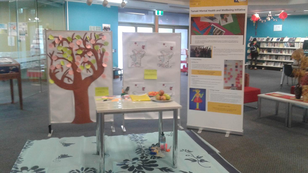 Community Wellbeing session held at Panmure Library