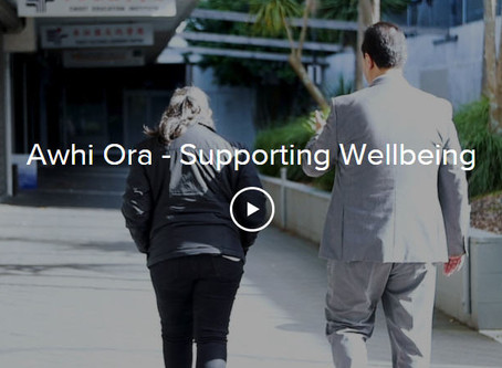 Awhi Ora - Supporting Wellbeing in video
