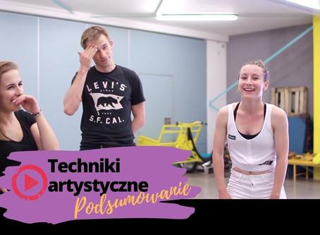 Techniki rozwoju artystycznego podsumowanie i ćwiczenia z tancerzami