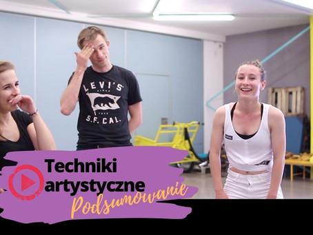 Rozwijanie kreatywności: ćwiczenia z tancerzami