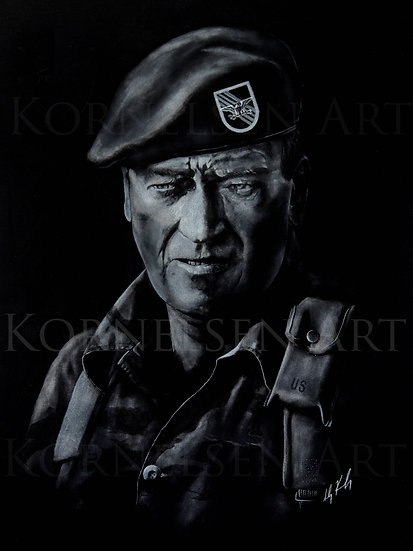 John Wayne in Green Berets