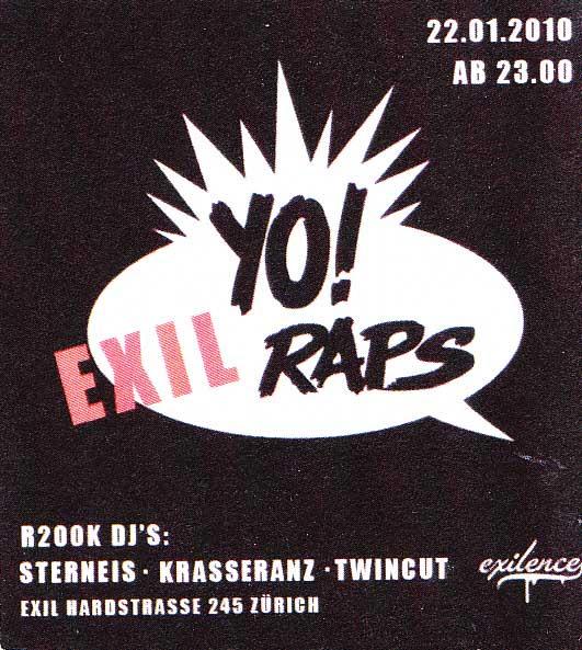 YO Exil Raps 2010