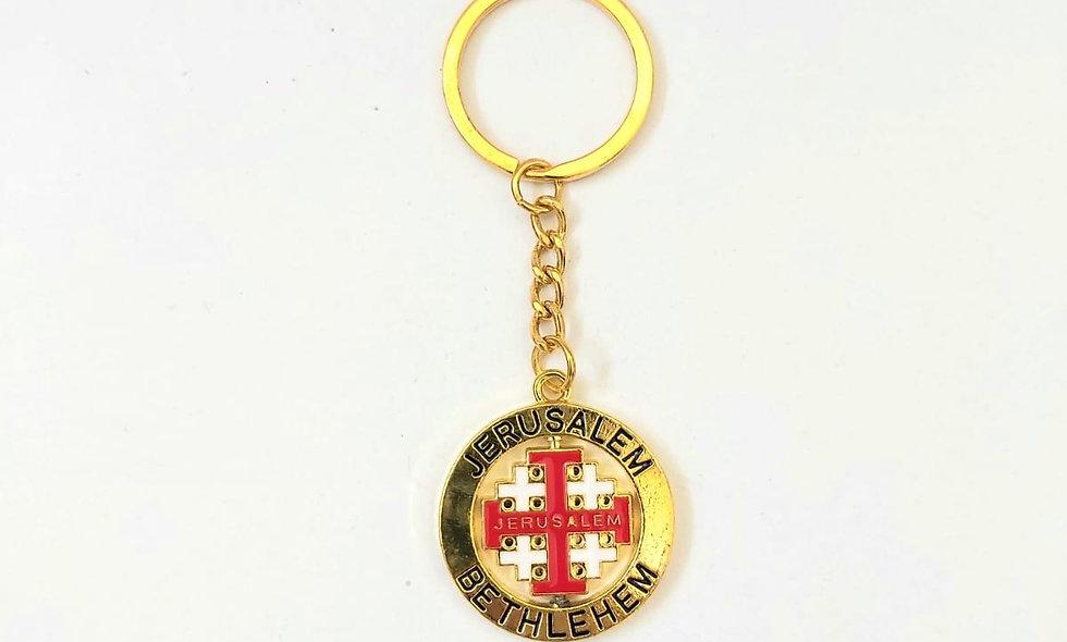 The Jerusalem cross Key CHAIN