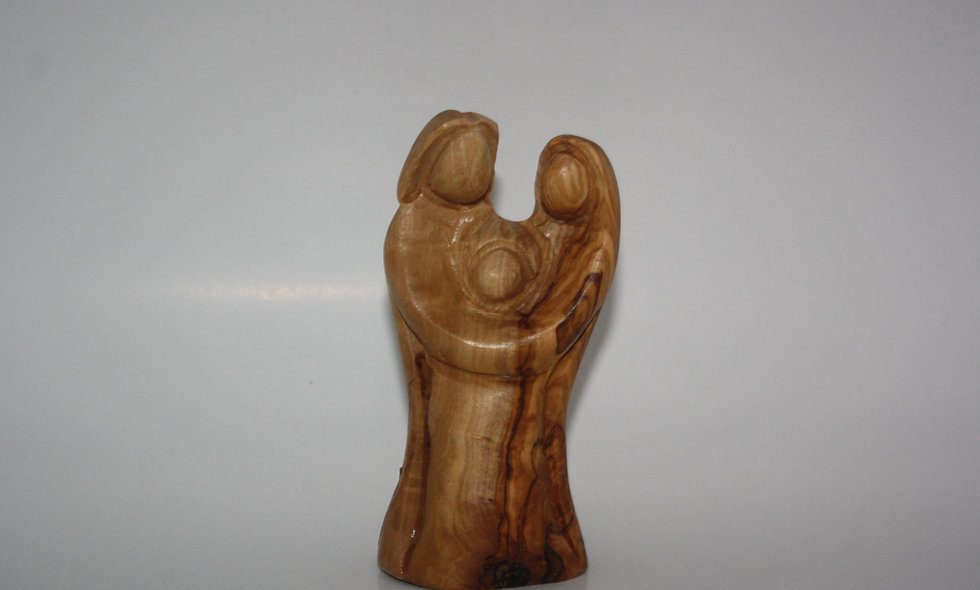 Olivewood Figures: Hand Made Holy Family
