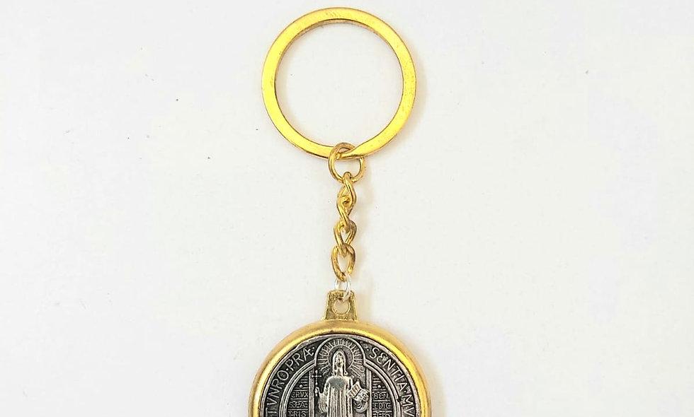 ST.Benedict Key Chain