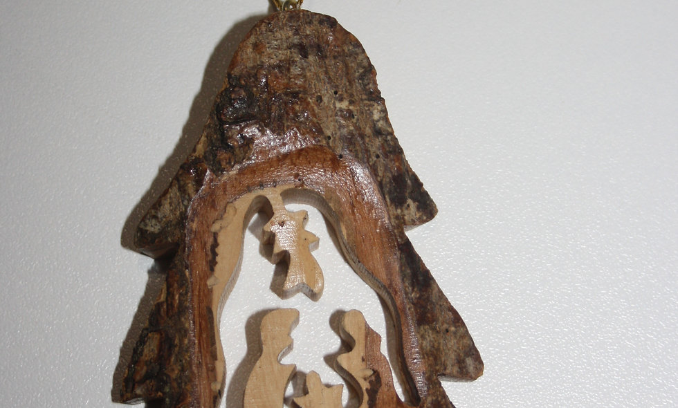 Olivewood Ornaments:  christmass orniments