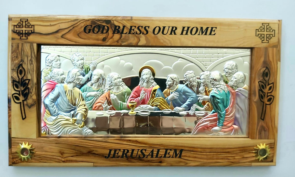 Silver and Olive Wood Last Supple