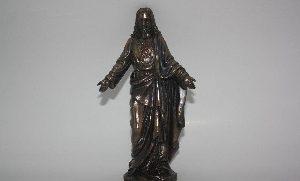 Heart Of Jesus Bronze