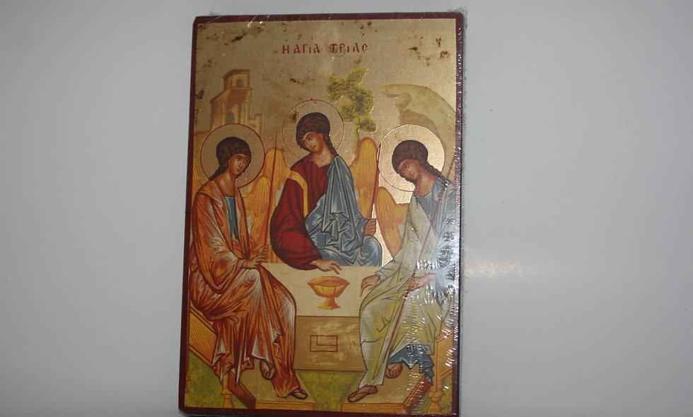 Crusified jesus Canvas gold leaf
