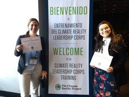 ¡Somos líderes climáticas! - Capacitación Climate Reality Project 2018