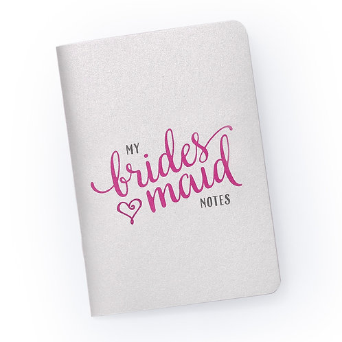 My Bridesmaid Notes - Bridal Party Planning Notebook