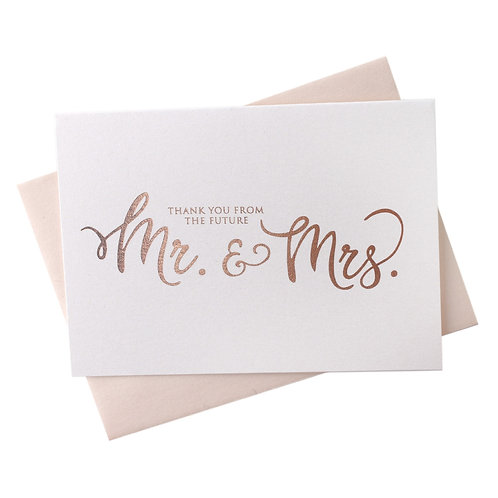 Thank You From the Future Mr. & Mrs. Cards Boxed Set