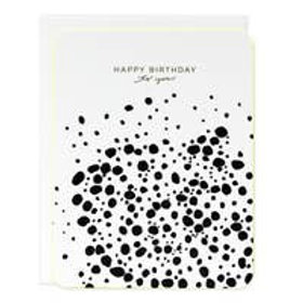 Birthday Dots Luxe Greeting Card