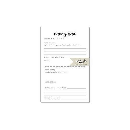 Nanny Notepad