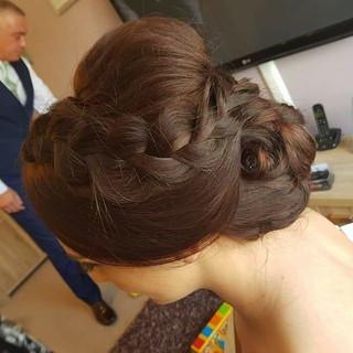 Bridal and bridesmaid hair ❤  #bridalhai