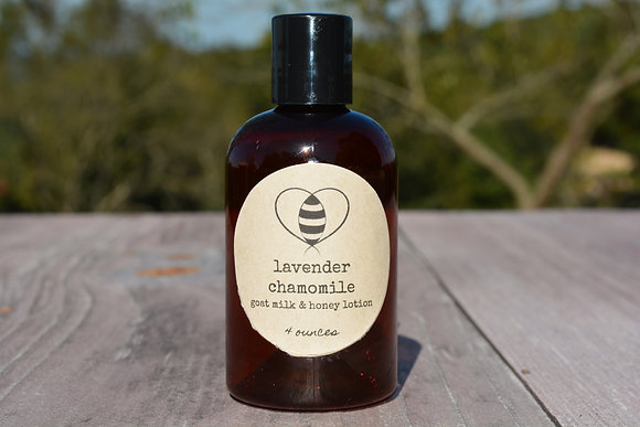 Lavender Chamomile Goat Milk & Honey Lotion